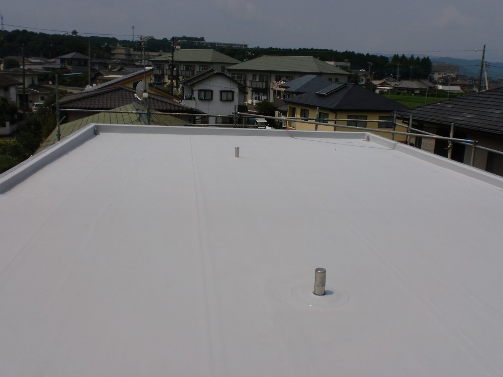 雨漏り改善防水工事